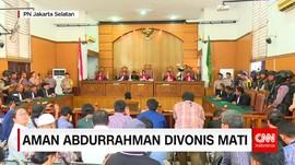 SIDANG VONIS AMAN ABDURAHMAN