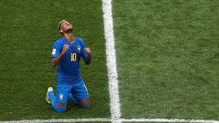 Masuk Jalur Persaingan Top Skor, Neymar Disebut Bukan Mesin