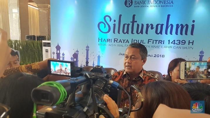 Gubernur BI: Pelemahan Rupiah Masih 'Tolerable'