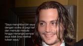 Johnny Depp mengakui punya cara tertentu menghadapi frustasi yang ia rasakan. (REUTERS/Fred Prouser)