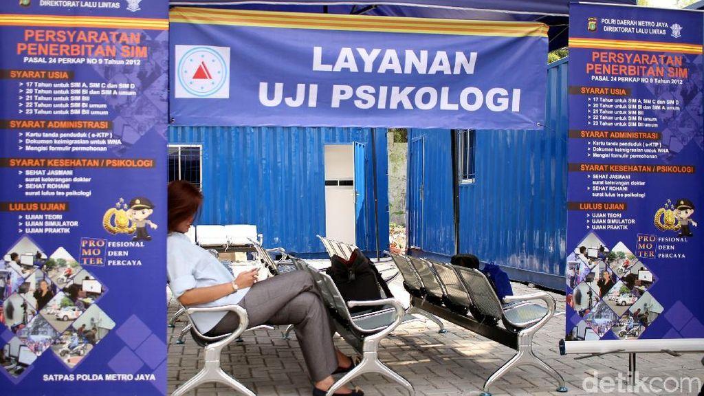 Bikin SIM Wajib Tes Psikologi Juga Berlaku di Jakarta