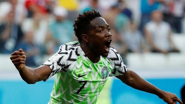 Bomber Nigeria: Saya Selalu Cetak Gol Setiap Messi Main
