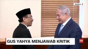 VIDEO: Cerita di Balik Pertemuan Yahya Staquf dan PM Israel