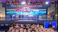 VIDEO: Debat Terakhir Pilgub Jabar Tanpa Serangan Paslon Lain
