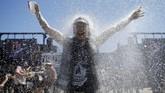 Pada 2006, namanya pun berganti menjadi Hellfest. Penggemarnya ternyata banyak. (REUTERS/Stephane Mahe)