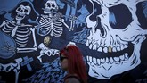 Tahun ini Hellfest digelar mulai Jumat (22/6) hingga Minggu (24/6). (REUTERS/Stephane Mahe)