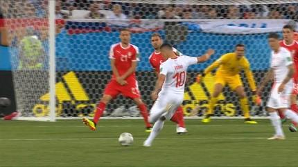 VIDEO: Gol Telat Menangkan Swiss Atas Serbia