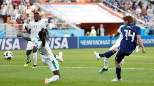 Jepang vs Senegal Imbang di Babak Pertama