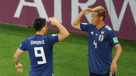 FOTO: Jepang Berbagi Angka dengan Senegal di Piala Dunia 2018