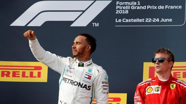 Menang di Jerman, Hamilton Diuntungkan Insiden saat Hujan