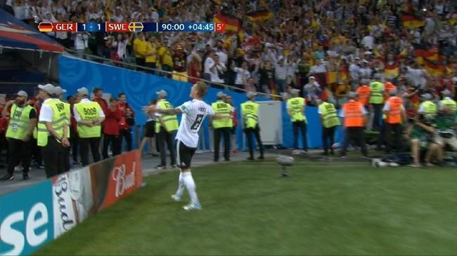 VIDEO: Gol Penebus Kesalahan Kroos Bawa Jerman Tekuk Swedia