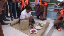 VIDEO: Warga Gelar Ritual Bantu Pencarian KM Sinar Bangun