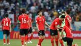 Korea Selatan sudah menelan enam kekalahan dari delapan pertandingan terakhir di Piala Dunia. Sedangkan dua laga lainnya berakhir satu kemenangan dan sekali imbang.(REUTERS/Damir Sagolj)