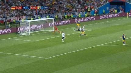 VIDEO: Gol Toivonen Bawa Swedia Ungguli Jerman di Babak I