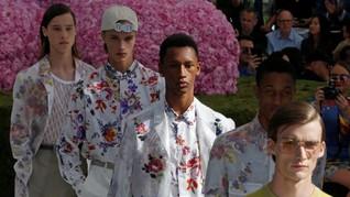 FOTO: Deretan Kejutan di 'Men's Paris Fashion Week'