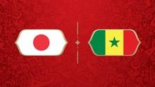 LIVE: Jepang vs Senegal di Grup H Piala Dunia 2018