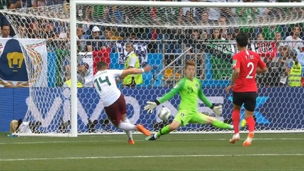 VIDEO: Cuplikan Meksiko Kalahkan Korea Selatan 2-1
