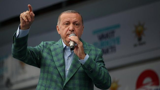 Erdogan Serukan Boikot Produk Elektronik AS