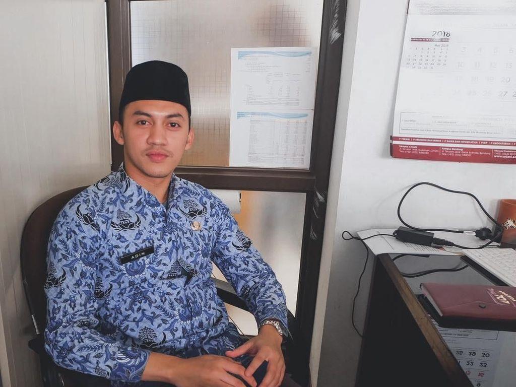 Potret PNS Ganteng di Bandung, Ketampanannya Bikin Wanita Meleleh