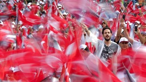 FOTO: Pesta Demokrasi Turki, Peluang Menuju Perubahan