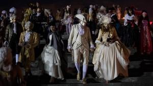 FOTO: Menyingkap Pesta Topeng 'Grand Masquerade' Perancis