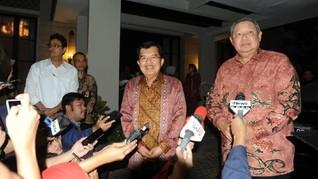 Tak Bahas Politik dengan SBY, JK Sebut Pilpres Masih Jauh