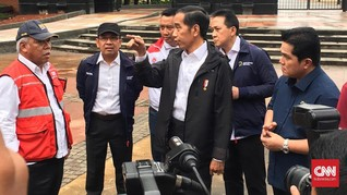 Jelang Asian Games, Jokowi Tinjau Gelora Bung Karno