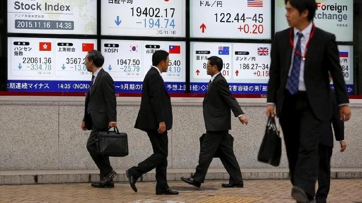 Dibayangi Berbagai Risiko, Bursa Saham Asia Bervariasi