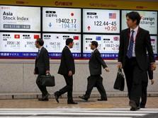 Update: Bursa Asia Masyoritas Merah, Masih Karena Efek Corona