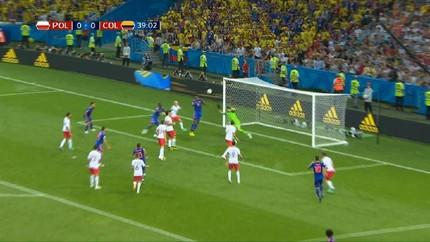 VIDEO: Mina Bawa Kolombia Unggul 1-0 atas Polandia di Babak I