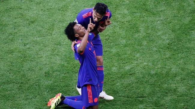FOTO: Kolombia Depak Polandia dari Piala Dunia 2018