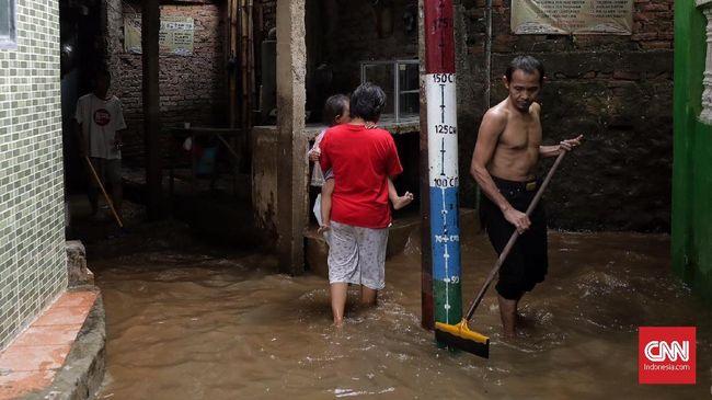 Terbiasa Kedatangan Banjir, Warga Kebon Pala Ogah Pindah