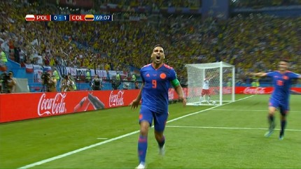 VIDEO: Tiga Gol Kolombia Singkirkan Polandia dari Piala Dunia