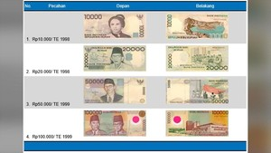Bank Indonesia Imbau Masyarakat Segera Tukar Uang Lama