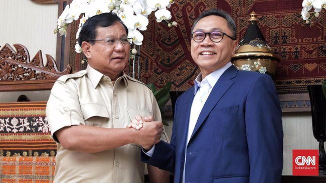 PAN Cari Alternatif, Prabowo dan Zulhas Bicarakan Koalisi