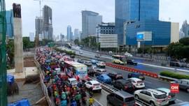VIDEO: Jakarta Kembali Macet Usai Libur Lebaran