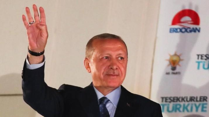 Erdogan Mantap! Ekonomi Q3 Positif, Turki Keluar dari Resesi