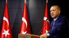 Erdogan Menolak Dataran Tinggi Golan Jadi Wilayah Israel