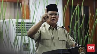 Sedih dengan Timnas, Prabowo Tak Pernah Nonton Piala Dunia