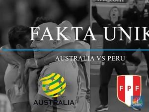 Video: Tanding Malam ini, Ini Fakta Peru dan Australia
