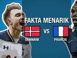 Video: Tanding Malam ini, Ini Fakta Denmark dan Prancis
