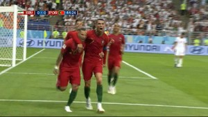 VIDEO: Gol Quaresma Bawa Portugal Ungguli Iran di Babak I