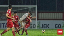 Persija Ditahan 10 Pemain PSM Makassar