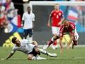 Laga Denmark vs Prancis Masuk Sejarah Piala Dunia 2018