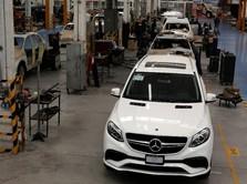 Kejahatan Naik, Produksi Mobil Anti-Peluru Meksiko Melesat
