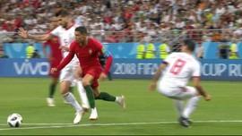 VIDEO: Pelanggaran Ronaldo dan Penalti yang Gagal