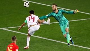 Seri Lawan Maroko, Spanyol Juara Grup B Piala Dunia 2018