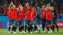 Timnas Spanyol Raih Trofi Fair Play Piala Dunia 2018