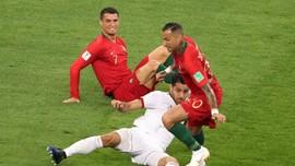 Timnas Portugal Unggul Atas Iran di Babak Pertama