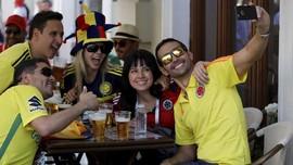 FOTO: Pesta Bola dan Bir di Piala Dunia 2018